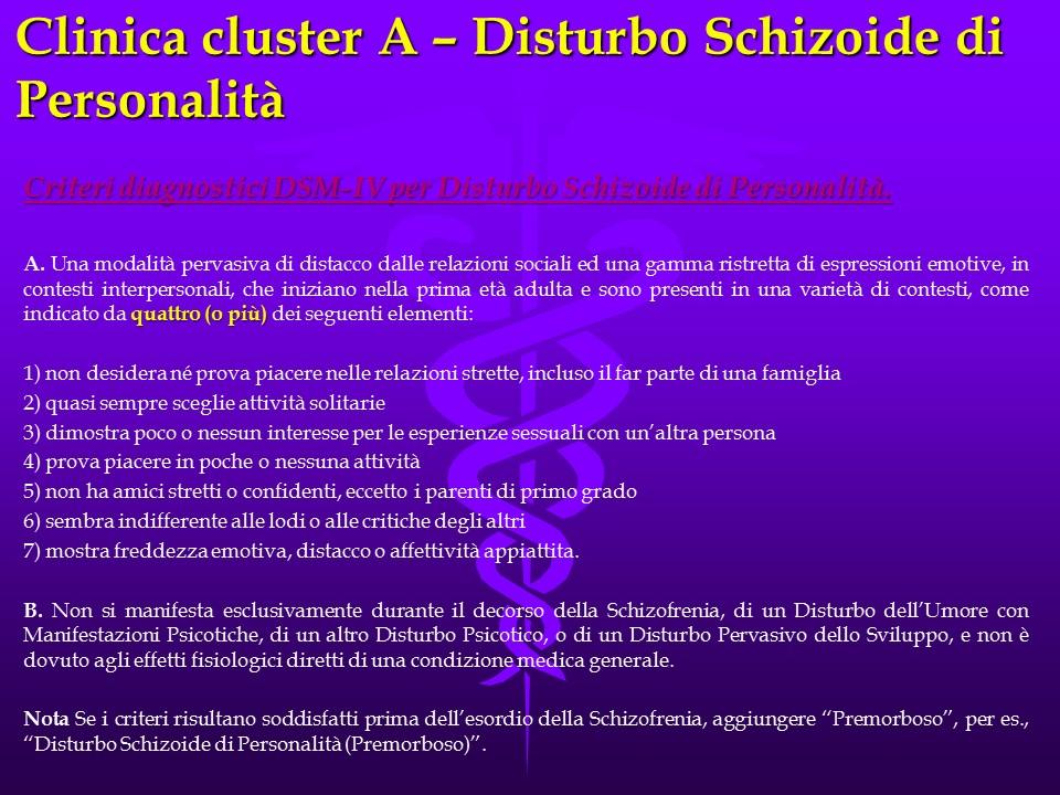 Schizoide